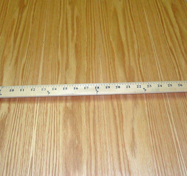 1 Pc of Inventory cleanup 5 popular selling sale Red Oak Wood Veneer 24