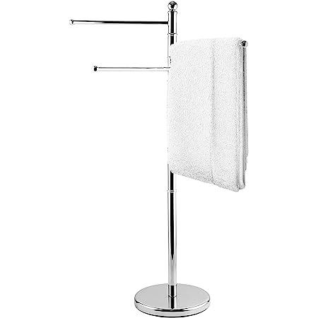 Gatco 1505 Floor Standing S Style Towel Holder Chrome Home Improvement