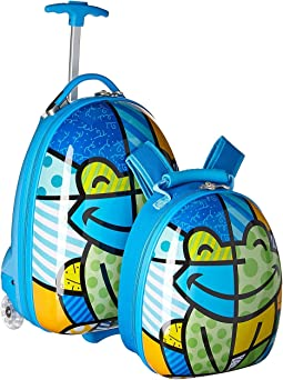 Britto Kids Luggage with Backpack