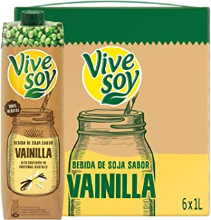 Vivesoy Sabor Vainilla - Pack 6 x 1 L