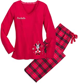 Minnie Mouse Holiday Plaid PJ Set for Women - Multi