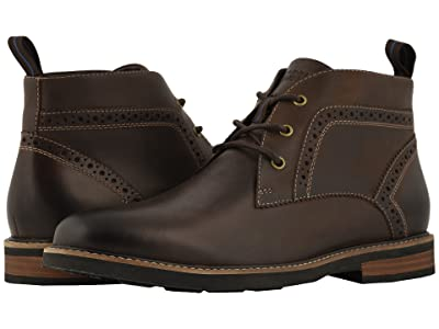 Nunn Bush Ozark Plain Toe Chukka Boot with KORE Walking Comfort Technology (Brown CH) Men