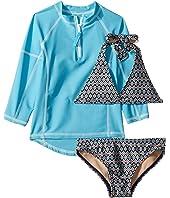 Amazon Bikini & Rashguard Set (Infant/Toddler/Little Kids/Big Kids)