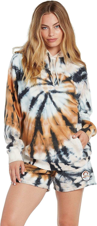 Volcom Women's Outer Banks X Netflix OBX Kiara Pullover Hooded Fleece Sweatshirt