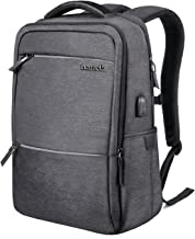Inateck Laptop Backpack with USB Charging Port, Anti-Theft Business Travel Backpack Fits Up to 15 Inch Laptops and 15.4