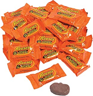Reese's Peanut Butter Pumpkins for Halloween - 30 Pack - Trick or Treat Candy