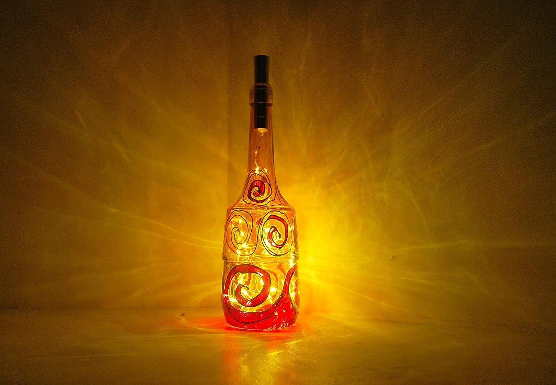 Night light Elegant recycle bottle Super sale lamp lights fairy