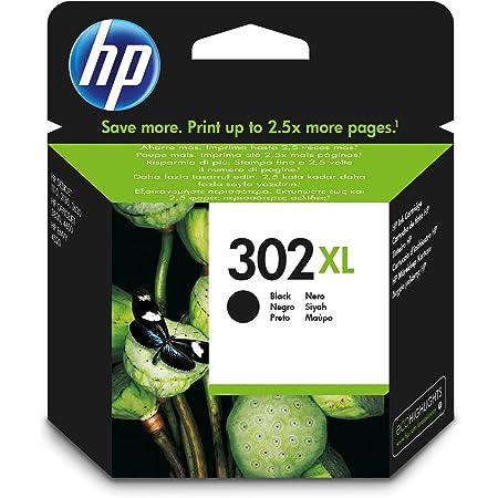 HP F6U68AE 302XL High Yield Original Ink Cartridge, Black, Single Pack