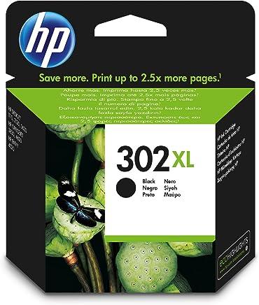 HP 302XL Original Druckerpatrone (mit hoher Reichweite für HP Deskjet 1110, 2130, 3630, HP OfficeJet 3830, 4650, 5230, HP ENVY 4520) schwarz