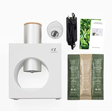 Cuzen Matcha Starter Kit, an Innovative At-home Matcha System that Produces Freshly Ground Matcha from Organic Shade-grown Le