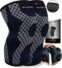 Knee Support Brace - Compression Sleeve for Arthritis - Meniscus Tear - Joint Pain - ACL - Squats - Running - Crossfit - Thin & Strong