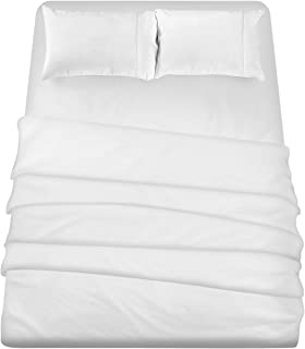 Utopia Bedding 3-Piece Twin Bed Sheets Set (White)