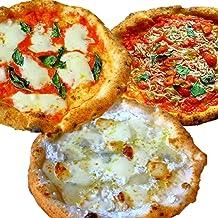 【冷凍ピザ】【冷凍ピッツァ】 太陽のピッツァ 薪窯焼き本格ナポリピッツァスタンダード3枚セット(マルゲリータ、4種のチーズのピッツァ、しらすのマリナーラ)(21cm×3枚) イルソーレ 【送料無料】