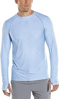 Coolibar UPF 50+ Men's Agility Long Sleeve Performance T-Shirt - Sun Protective