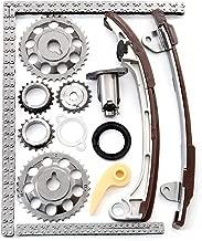 CCIYU Timing Part Timing Chain Tensioner Guide Rail Crank Sprocket fits Toyota RAV4 Camry Corolla 2.0 2.4 L 2AZFE 1AZFE TK922