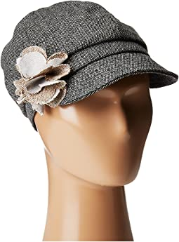 San Diego Hat Company Kids - CTK4196 Cap with Flower (Little Kids/Big Kids)