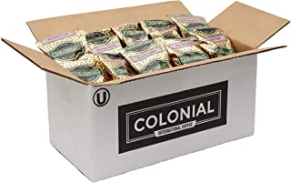 Colonial Coffee, Hazelnut Cream Flavored Ground Coffee, 2.5 OZ Fraction Packs, 32 COUNT box, Bulk Bags