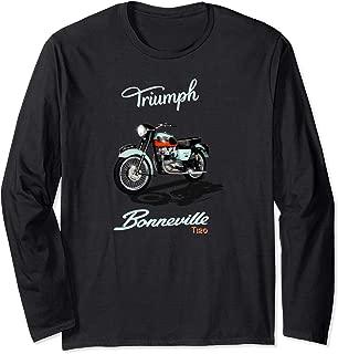 Vintage Triumph Bonneville T120 Motorcycle Long Sleeve T-Shirt