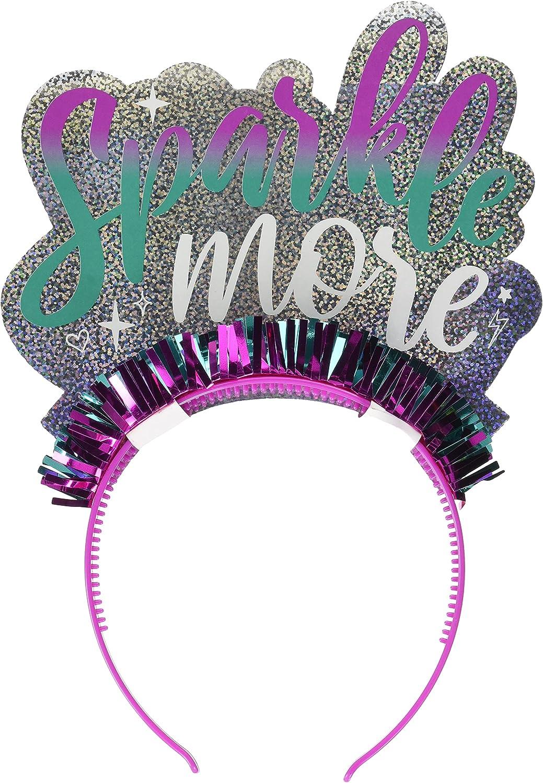 Sparkle Girl's Foil Headband - 1 Pc.