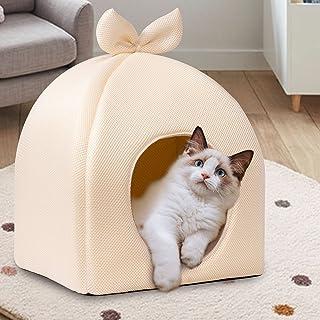 Happihausu 猫 ベッド 犬 ベッド オールシーズン対応マット四季 猫 こたつ ベッドペッド メッシュ 通気性いい ハウス
