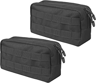 XTACER 1000D Nylon Tactical Lightweight Modular MOLLE Small Utility Pouch EDC Bag Accessory Kit
