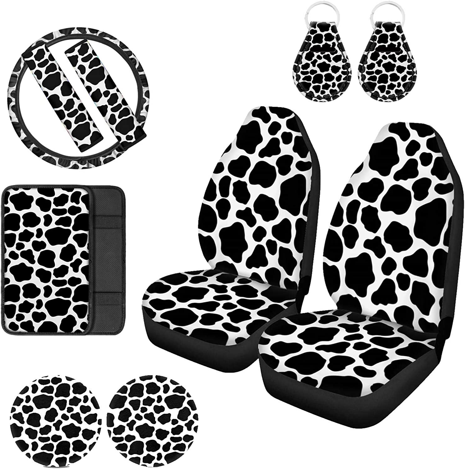 UZZUHI 2pcs Seat Cover 1 Wheel Steering Popular products Pa Discount is also underway Armrest