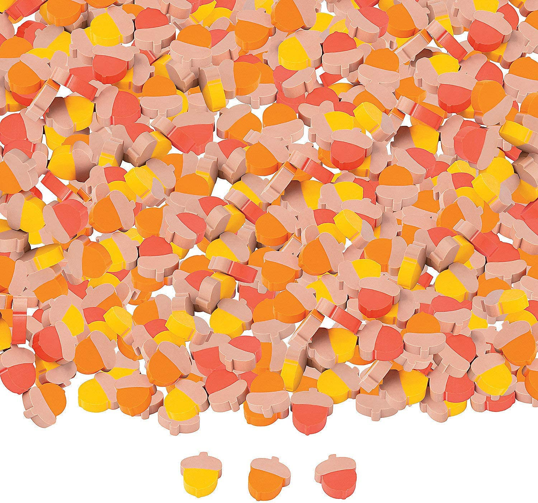 Bulk Mini Acorn Erasers - 144 Pc. - Stationery - 144 Pieces
