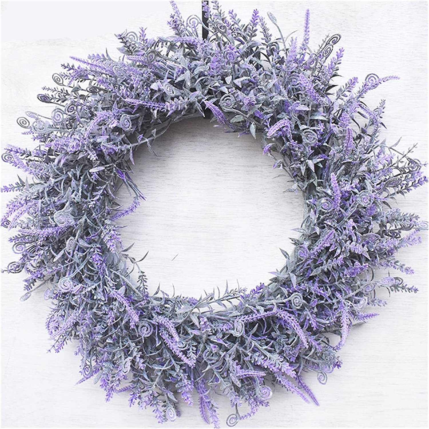 ZHAWE Wreath for Front Door Decor- 2021 Lavender Fall Flo 40% OFF Cheap Sale