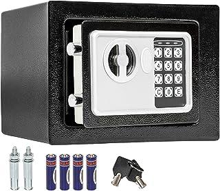 TecTake Coffre-fort avec Serrure Électronique Porte + 4 Piles - diverses tailles au choix - (17x23x17cm (Art. 400727))