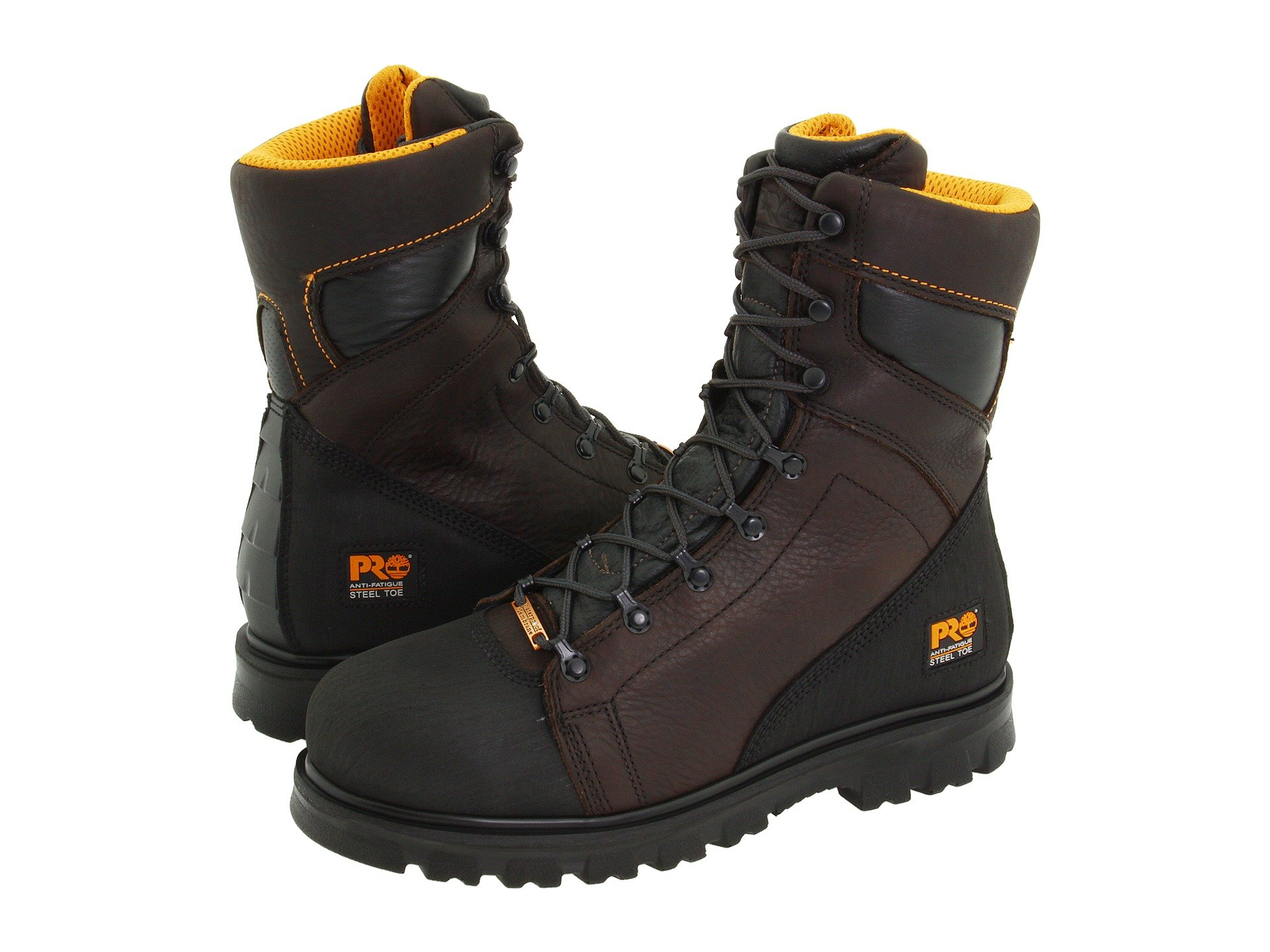 Timberland Pro Rigmaster 8 Quot Waterproof Steel Toe At Zappos Com