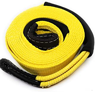 2 X 30 Tow Strap Off-Road Towing and Recovery Rope for Truck Jeep and SUV Poison frog PF2920 20000Lbs 2 X 30 Heavy Duty Tow Strap