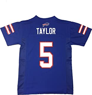 Outerstuff Tyrod Taylor Buffalo Bills Blue Kids Home Mid Tier Jersey