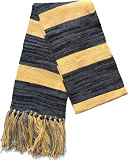 Men's wool scarf in autumn and winter long knitting scarf