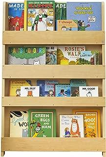 Tidy Books - Kids Bookshelf   Natural   Wall Bookshelf for Kids   Montessori Materials   Wood Bookcase   45.3 x 30.3 x 2.8 Inch   ECO Friendly   Handmade   The Original Since 2004