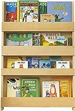 Tidy Books - Kids Bookshelf | Natural | Wall Bookshelf for Kids | Montessori Materials | Wood Bookcase | 45.3 x 30.3 x 2.8 Inch | ECO Friendly | Handmade | The Original Since 2004