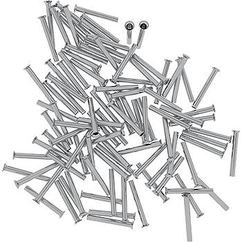 100 St/ück 2,5//12 Aderendh/ülsen unisoliert 2,5mm/²//12mm EN2512 Elpromet 0422
