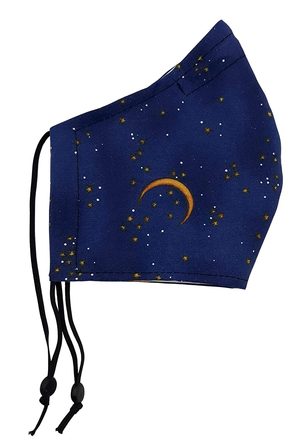SMALL LADIES TEEN Size New item Translated Face Mask- Filter Navy Mask Moon Poc