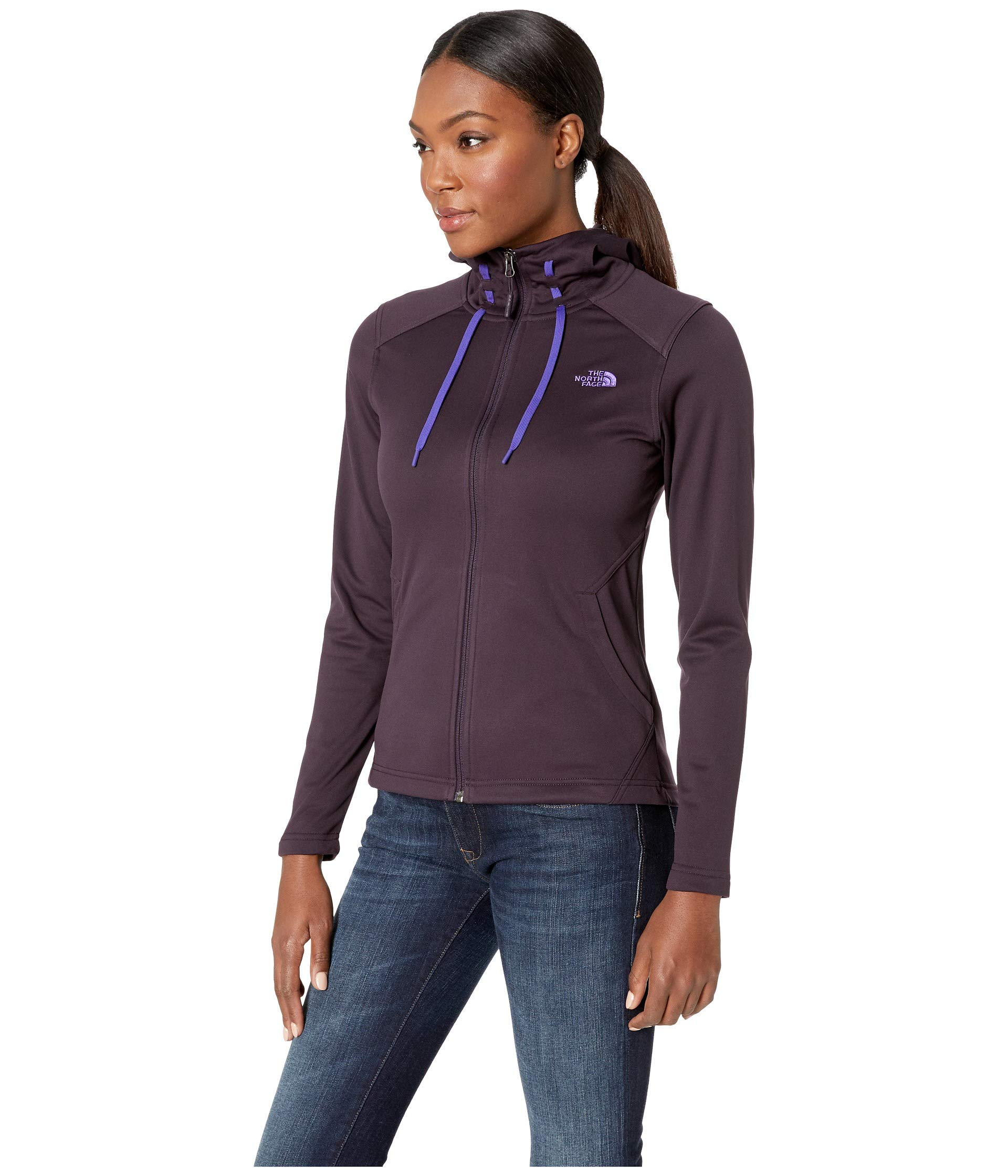 Galaxy Tech North Hoodie Face The Purple Mezzaluna BwX8Fq1vZE