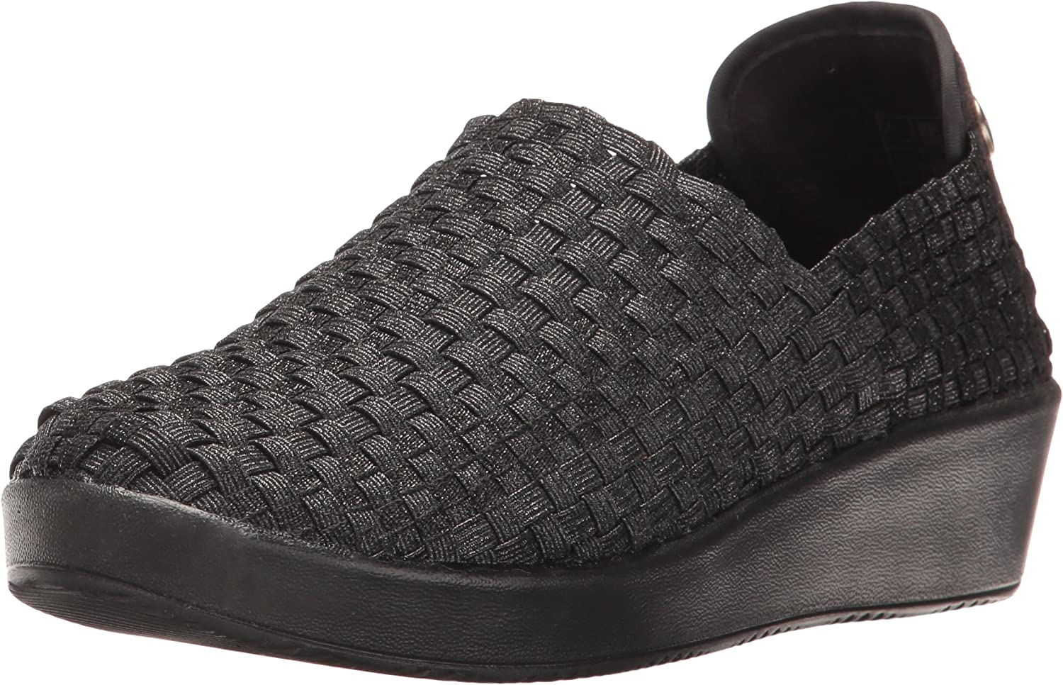 Bernie Mev Womens Smooth Cha Cha Slip-On Loafer