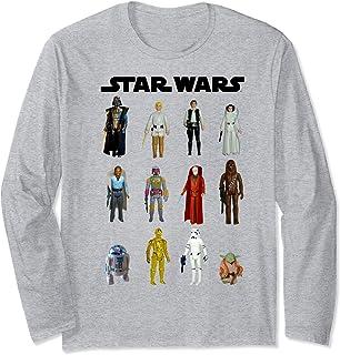 Star Wars Action Figure Collage Manche Longue
