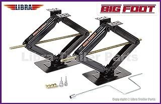 LIBRA Set of 2 Bigfoot 5000 lb 24
