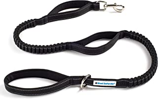 Shed Defender Shock Absorbing Bungee Leash - Three Padded Handles for Traffic Control at Different Lengths, Stretches from...