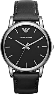 Emporio Armani Men's Luigi Three-Hand Dress Watch With Quartz Movement