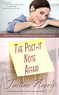 The Post-it Note Affair: A Romance Novelette of Love Lost and Found (English Edition)