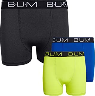 Boys' Performance Dry-Fit Compression Boxer Briefs (3 Pack)