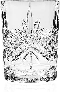 Godinger Silver Art Dublin Non-leaded Crystal Bathroom Tumbler Cup Glass