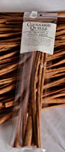 "Extra Long Cinnamon Sticks - 10"" Indonesian Cassia Cinnamon Quills"