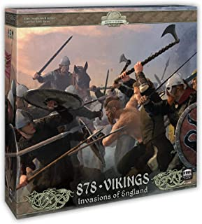 878 Vikings - Invasions of England: Award Winning Board Game of Raiding and Pillaging