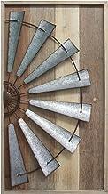 Stratton Home Décor S11547 Windmill Wall Décor, 17.72 W X 1.77 D X 31.50 H, Mixed..
