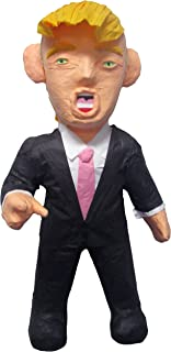 Pinatas Large Donald Trump, 3D Hand Molded Decoration, Party Game and Photo Prop